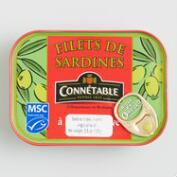 Connetable Sardines in Extra Virgin Olive Oil