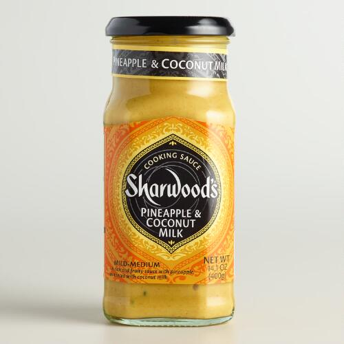 Sharwoods Pineapple and Coconut Milk Cooking Sauce