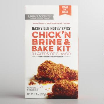 Urban Accents Hot and Spicy Chicken Kit