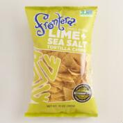 Frontera Lime Sea Salt Tortilla Chips