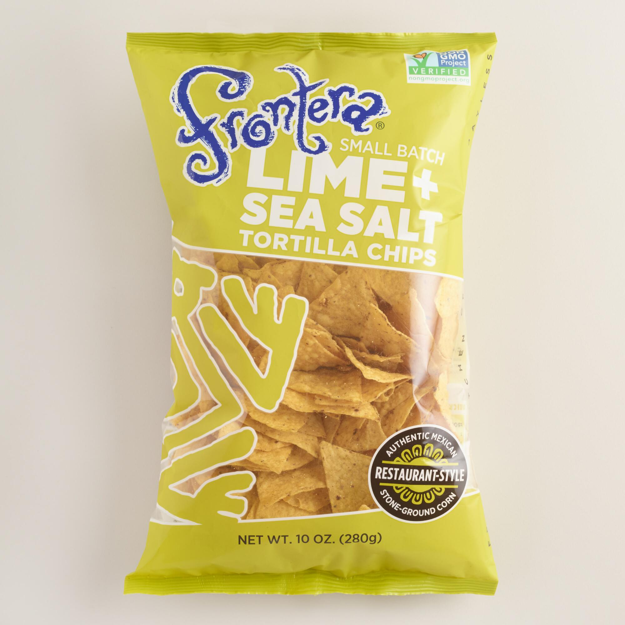 World Market Lately: Frontera Lime Sea Salt Tortilla Chips