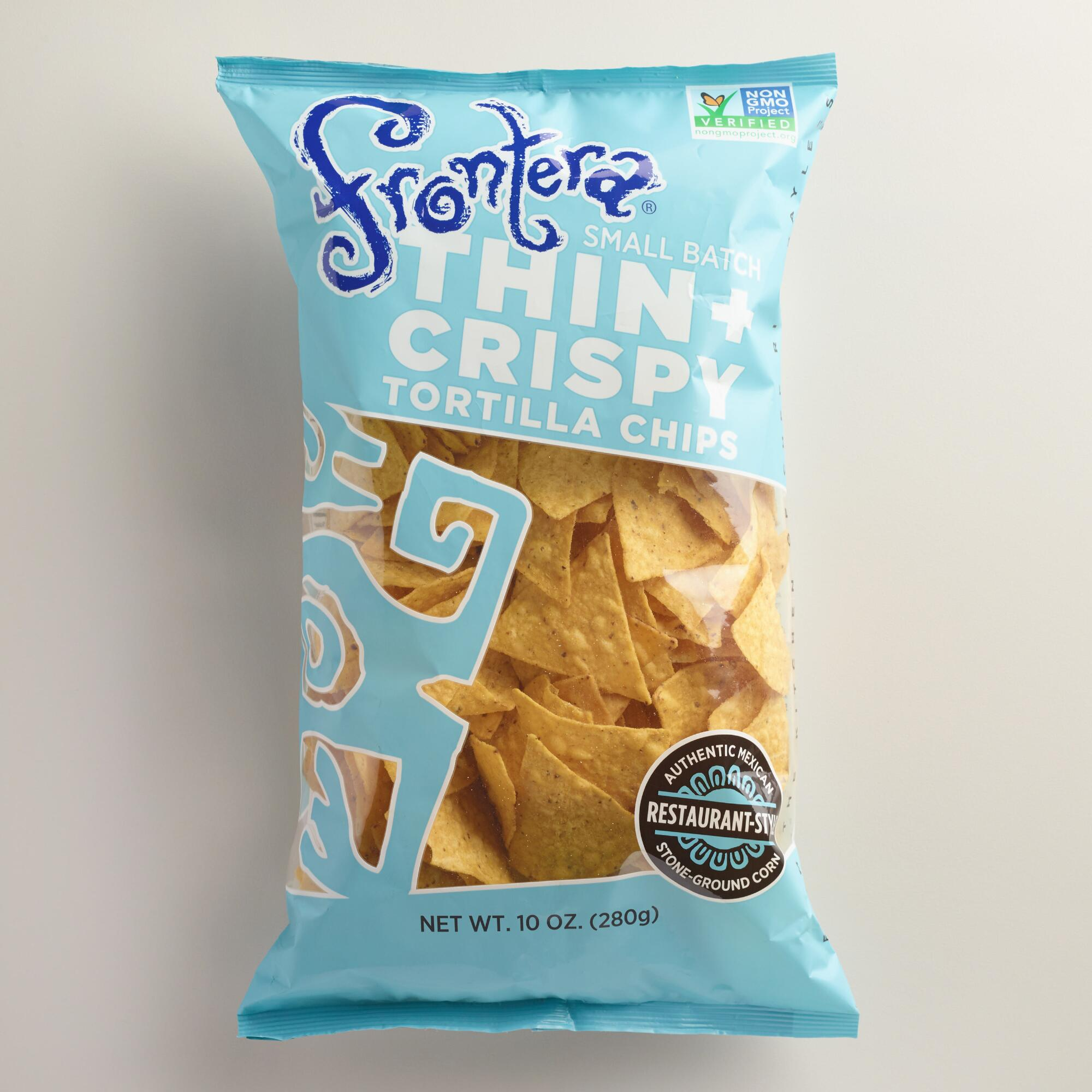 World Market Lately: Frontera Thin And Crispy Restaurant Style Tortilla Chips