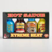 Ass Kickin' Xtreme Heat Hot Sauce Minis 4 Pack