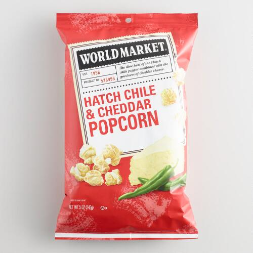 World Market® Hatch Chili and Cheddar Popcorn