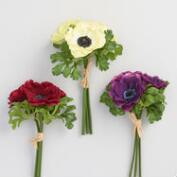 Anemone Bunches Set of 3