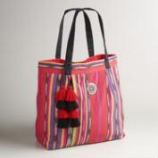 Large Multicolor Stripe Bag