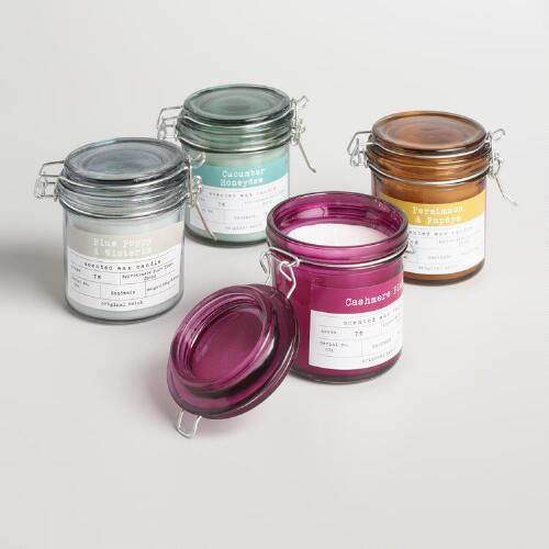 Candy Jar Candle Collection