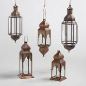 Antique Copper Layla Lantern Collection