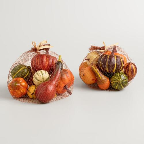 Bag of Gourds Set of 2