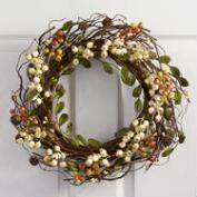 Ivory Berry Wreath
