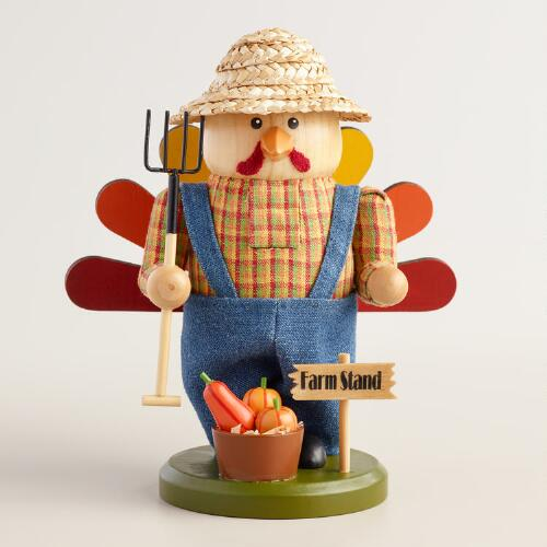 Turkey Farmer Nutcracker