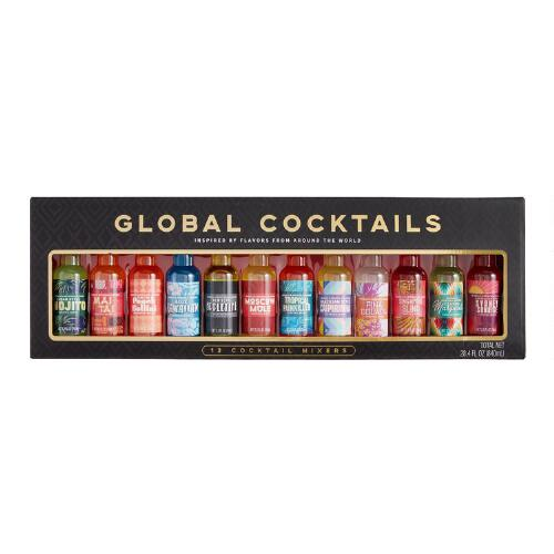 Coastal Cocktails Global Cocktail Mixer Set 12 Count