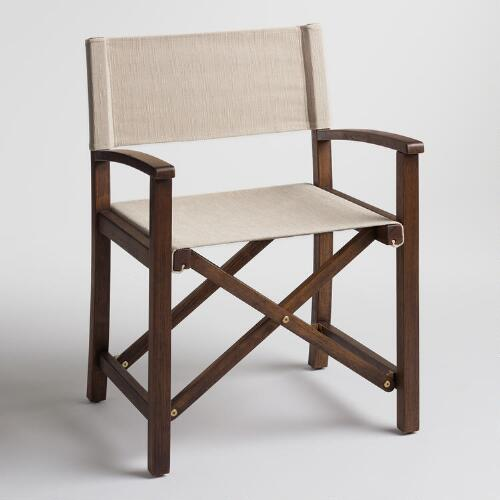 Ivory Ryker Director Chair Canvas Cover