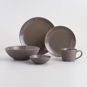 Charcoal Element Dinnerware Collection