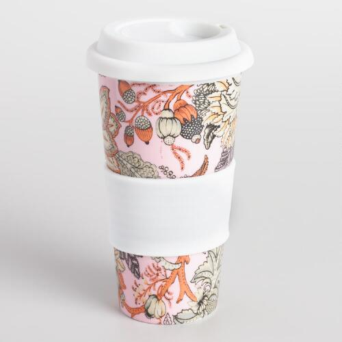 Aerin Floral Travel Not a Paper Cup Set of 2