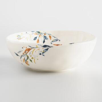 Klara Earthenware Serving Bowl