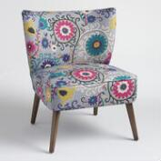 Swirl Delani Upholstered Accent Chair