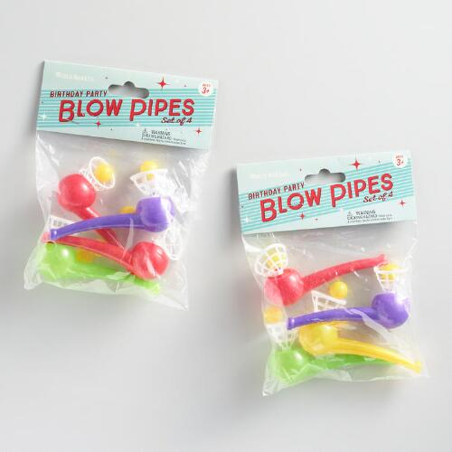 All Occasions Party Pack Blow Pipes 2 Pack