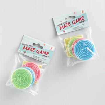 All Occasions Party Pack Maze Game 2 Pack