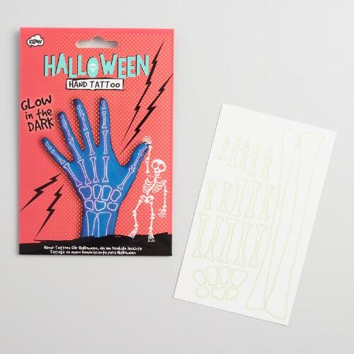 Skeleton Hand Tattoo Set of 2