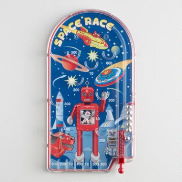 Space Race Pinball Toy