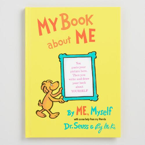 Dr. Seuss My Book About Me