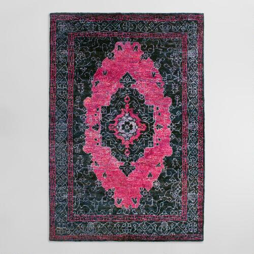 6'x9' Hand Knotted Washed Jute Amaris Area Rug