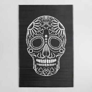 4'x6' Los Muertos Reversible Indoor Outdoor Rio Floor Mat