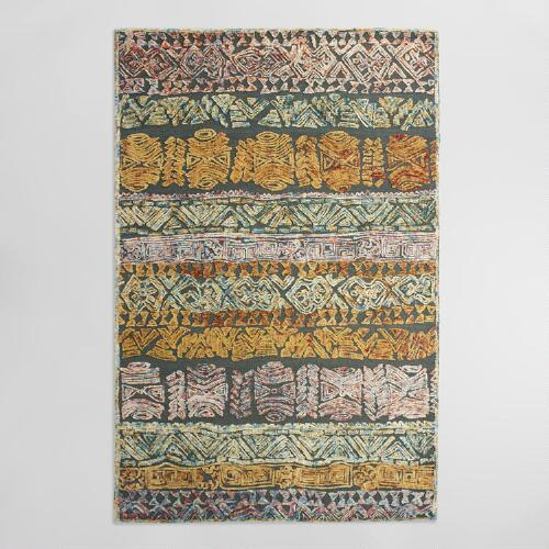 Tufted Wool Kali Area Rug