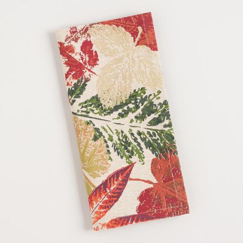 Fall Leaves Ingrid Napkins Set of 4