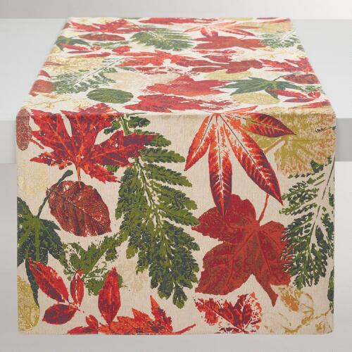 Fall Leaves Ingrid Table Runner