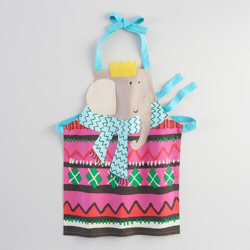 Elephant Kids Apron