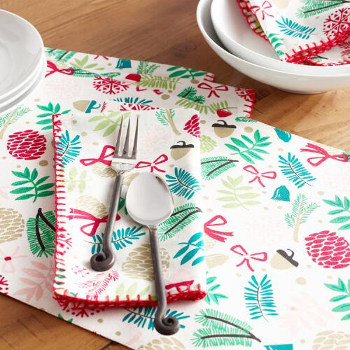 Alpine Branches Table Linen Collection
