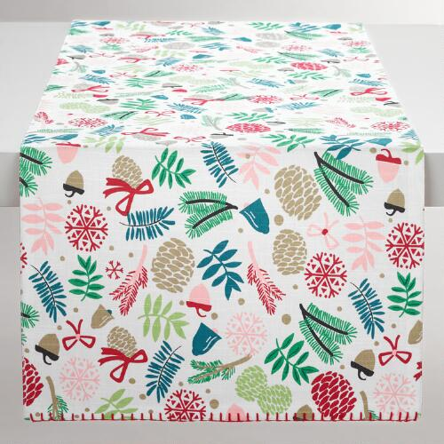 Alpine Branches Table Runner