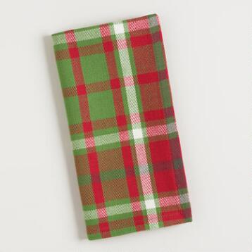 Signature Plaid Napkins Set of 4