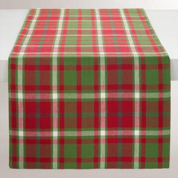 Signature Plaid Table Runner