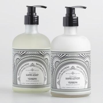 Art Deco Verbena Hand Care Collection