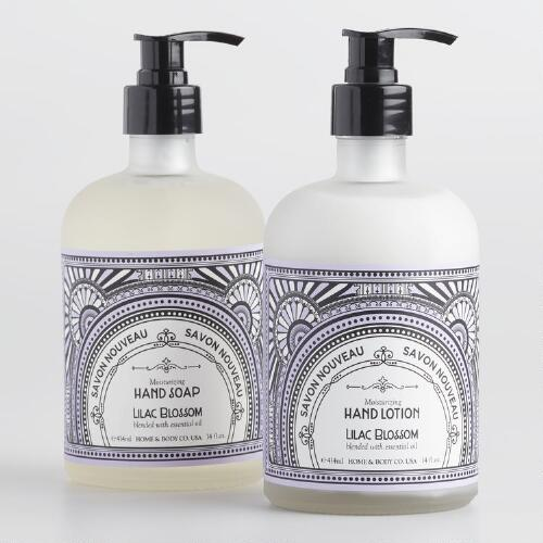 Art Deco Lilac Blossom Hand Care Collection