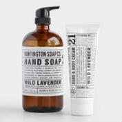 Huntington Wild Lavender Hand Care Collection