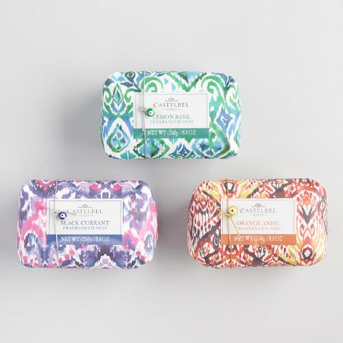 Castelbel Ikat Bar Soap Collection