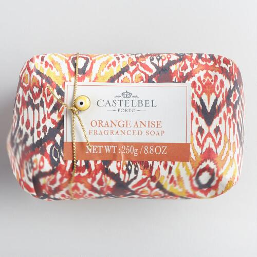 Castelbel Ikat Orange Anise Bar Soap