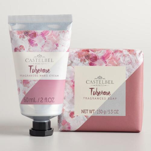 Castelbel Watercolor Tuberose Hand Care Collection