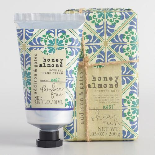 A&G Nomad Tile Honey Almond Bath and Body Collection