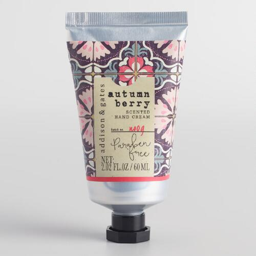 A&G Nomad Tile Autumn Berry Hand Cream Set of 2