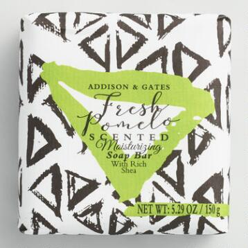 A&G Pomelo Bar Soap Set of 2