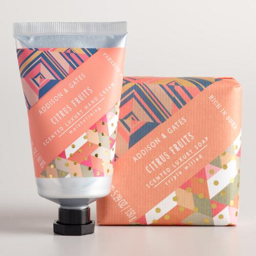 A&G Citrus Fruits Bath and Body Collection