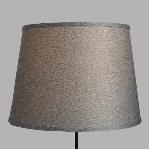 Gray Linen Table Lamp Shade