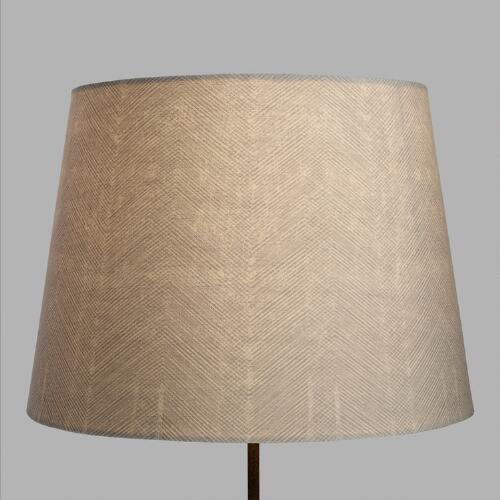 Feathered Chevron Table Lamp Shade