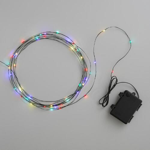 Multicolor Micro LED 150 Light String Lights