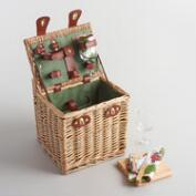 Wine Country Willow Picnic Basket